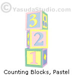 Counting Blocks, pastel