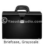 Briefcase, Grayscale