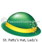 St. Patty's Hat, Lady's