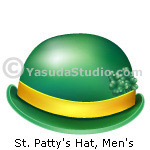 St. Patty's Hat, Men's