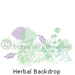 Herbal Backdrop