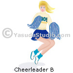 Cheerleader B