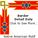 American Indian Page Border
