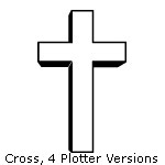 Cross, 4 Plotter Versions