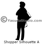 Shopper Silhouette