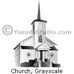Church, GrayScale