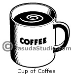 Cup of Coffee, 1 color